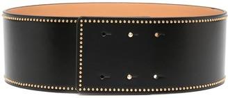 Elisabetta Franchi Stud-Embellished Waist Belt