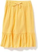 Old Navy Crinkle-Jersey Tea-Length Skirt for Toddler