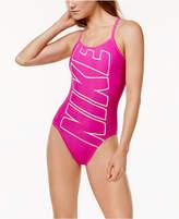 Nike Logo Racerback One-Piece Swimsuit Women's Swimsuit