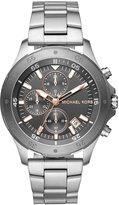Michael Kors Men's Chronograph Walsh Stainless Steel Bracelet Watch 44mm MK8569