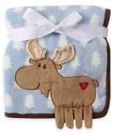 Baby Vision BabyVison® Hudson Baby® Coral Fleece 3-D Animal Blanket
