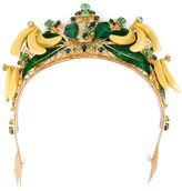 Dolce & Gabbana filigree crown tiara