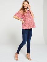 Very Maternity Over The Bump Skinny Jeans - Indigo