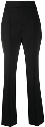Isabel Marant High-Waisted Flared Trousers