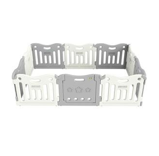 Baby Care FunZone Playpen Melange Grey