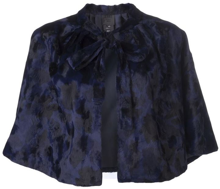 Anna Sui cropped caplet