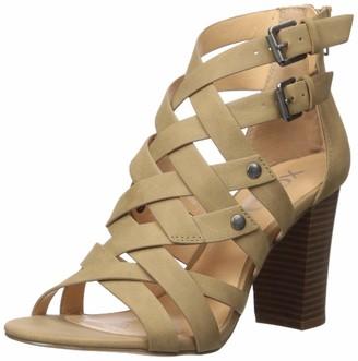 XOXO Women's Briannah Heeled Sandal
