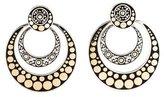 John Hardy Two-Tone Dot Jaisalmer Earrings