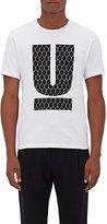 "Undercover Men's Chain-Link ""U"" Graphic Cotton Jersey T-Shirt"