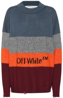 Off-White Wool-blend sweater
