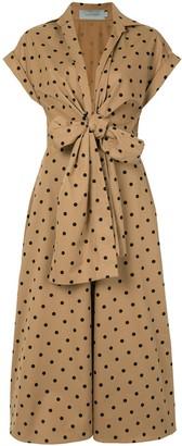 Silvia Tcherassi Rigona polka dot-print dress