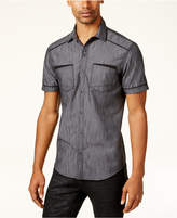 INC International Concepts Men's Shiny Chambray Shirt, Created for Macy's