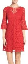 Gabby Skye Women's Lace A-Line Dress