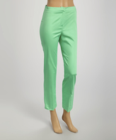 Green Ankle Pants - ShopStyle