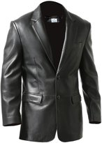 VearFit Rozero Faux leather formal Coat for men, Extra Small
