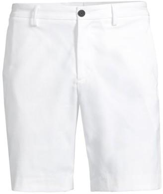Theory Zaine Slim-Fit Straight-Leg Denim Shorts