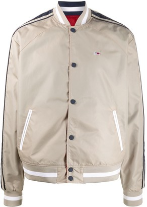 Tommy Hilfiger Reversible Panelled Bomber Jacket