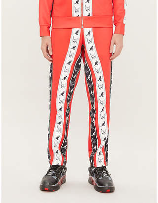 Burton MJB - MARC JACQUES MJB x Kangol logo-print stretch-jersey jogging bottoms