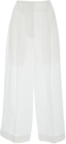 Michael Kors Cropped Linen Trousers