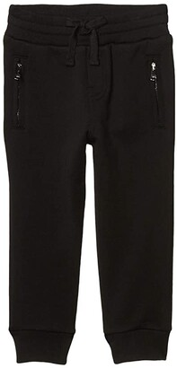 Dolce & Gabbana Kids Pantalone Trousers (Big Kids) (Nero) Boy's Casual Pants