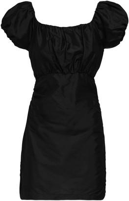 SIR the Label Valetta Silk Taffeta Mini Dress