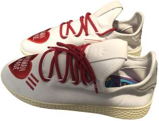 Pharrell Adidas X Williams NMD Hu White Cloth Trainers
