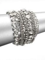 ABS by Allen Schwartz Multi-Row Link Chain Bracelet