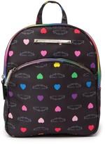 Betsey Johnson Printed Nylon Backpack