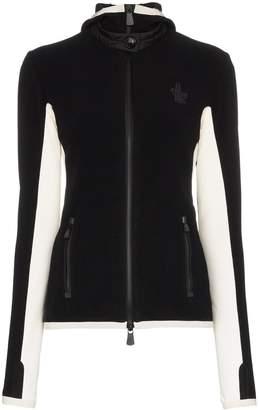Moncler slim fit hooded jacket