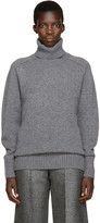 Chloé Grey Cashmere Turtleneck