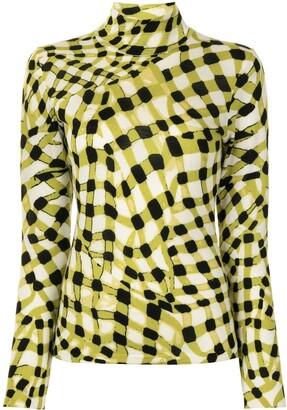 Diane von Furstenberg Brandy merino mock-neck jumper
