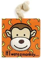 Jellycat 'If I Were A Monkey' Board Book