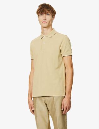 Tom Ford Button-up cotton-piqué polo shirt