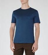 Reiss Braizer Mercerised Cotton T-Shirt
