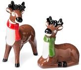 Threshold Salt and Pepper Shaker Set Ceramic Reindeer
