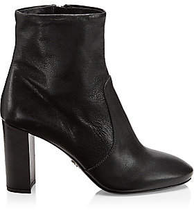 Prada Women's Leather Ankle Boots