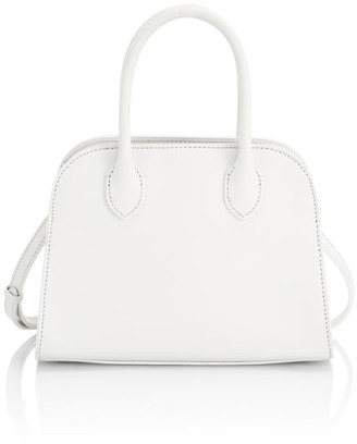 The Row Mini Margaux 7.5 Leather Bag
