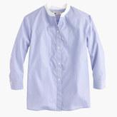 Thomas Mason for J.Crew collarless shirt
