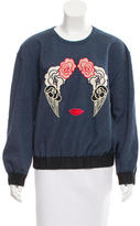 Stella McCartney Embroidered Pullover Sweatshirt