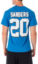 Majestic Detroit Lions NFL Barry Sanders Name and Number T-Shirt