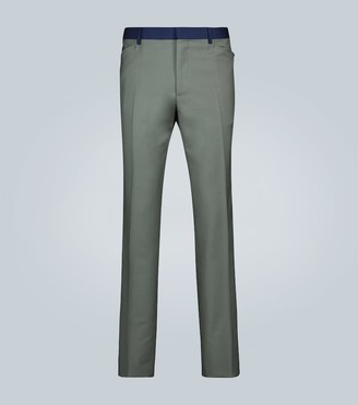 Lanvin Wool and mohair-blend pants