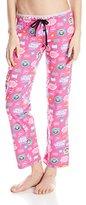 Paul Frank Women's Logo-Print Pink Pajama Pant