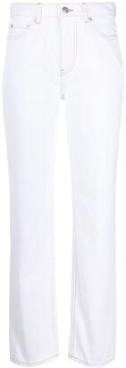 Ganni Straight-Leg Jeans