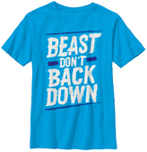 Fifth Sun Turquoise 'Beast Don't Back Down' Crewneck Tee - Youth