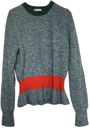 Chloã© ChloA Blue Cashmere Knitwear