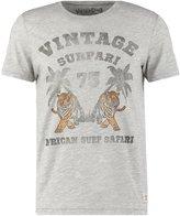 Jack & Jones Jjvdwayne Slim Fit Print Tshirt Cool Grey