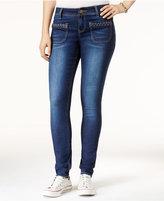 Rampage Juniors' Butt-Lifter Skinny Jeans