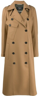 Rochas Double Breasted Trench Coat