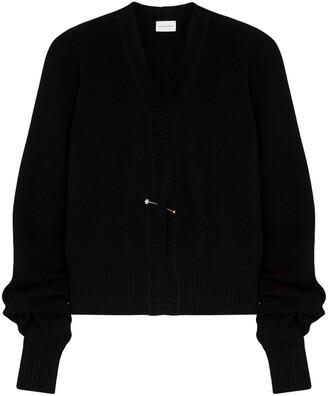 Magda Butrym Oversized Sleeve Knitted Cardigan