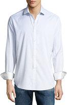 Robert Graham Parth Check Sport Shirt, White